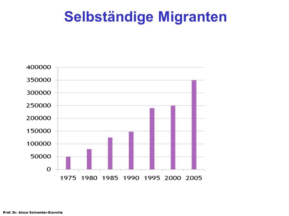 Selbständige Migranten