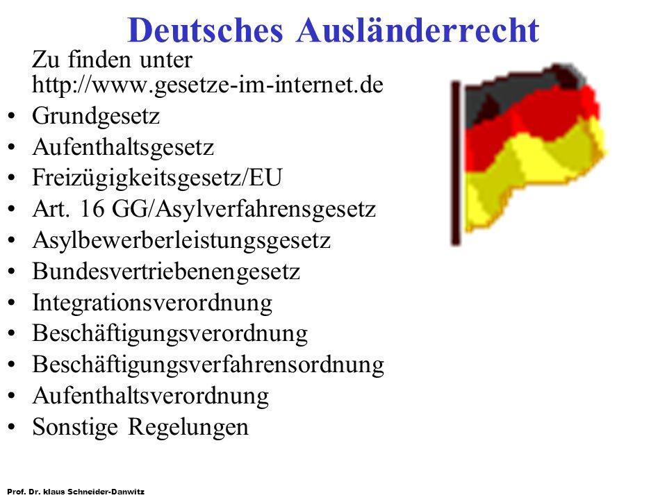 Deutsches Ausländerrecht