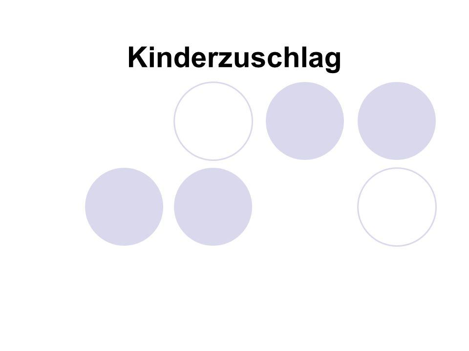 Kinderzuschlag