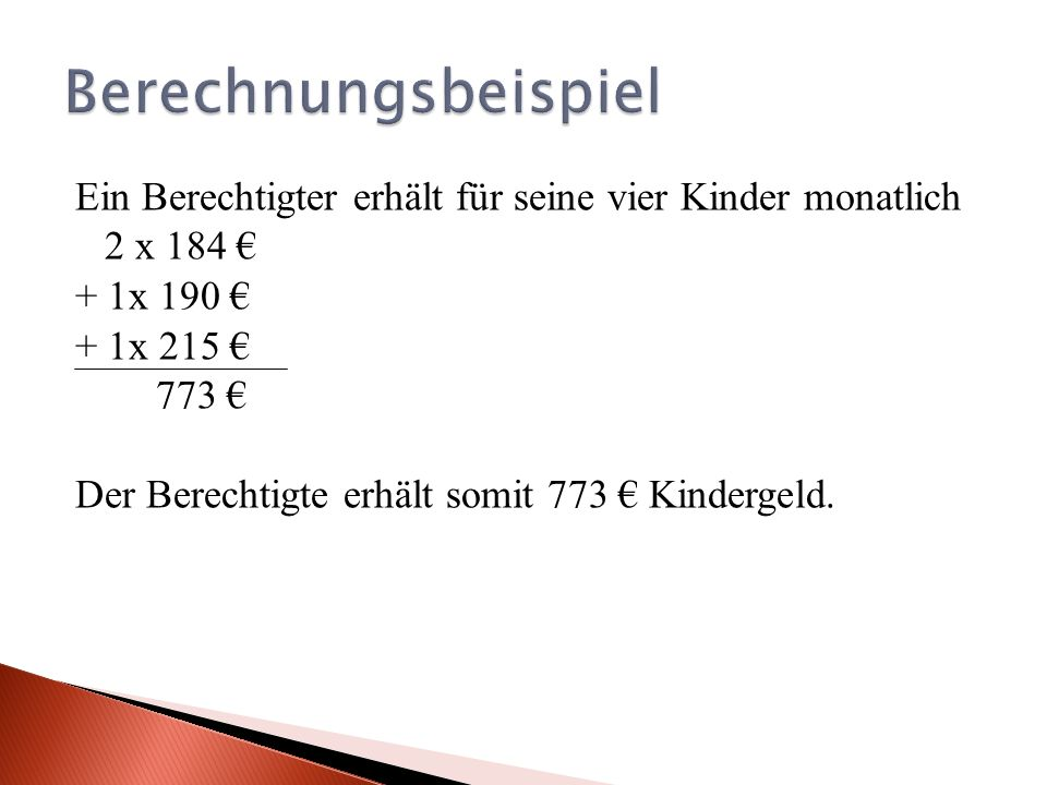 Berechnungsbeispiel