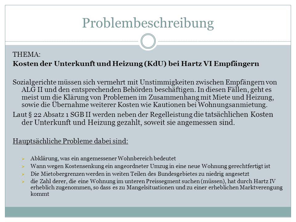 Problembeschreibung THEMA: