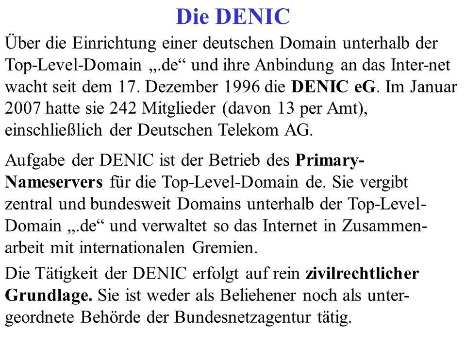 Die DENIC