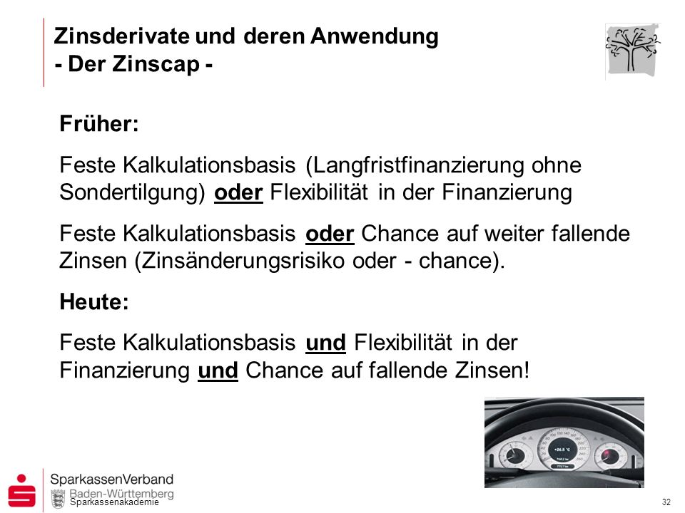 Zinsderivate und deren Anwendung - Der Zinscap -