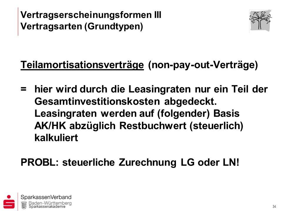 Vertragserscheinungsformen III Vertragsarten (Grundtypen)