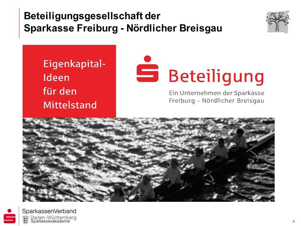 Beteiligungsgesellschaft der Sparkasse Freiburg - Nördlicher Breisgau