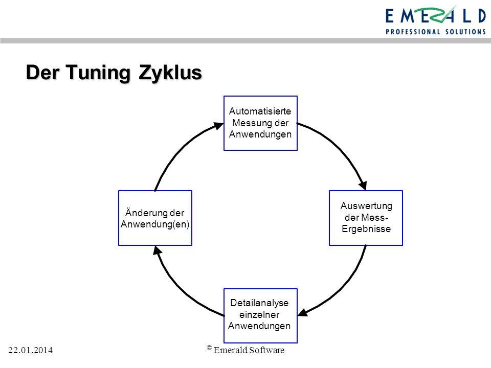 Der Tuning Zyklus © Emerald Software