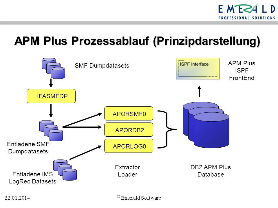 APM Plus Prozessablauf (Prinzipdarstellung)