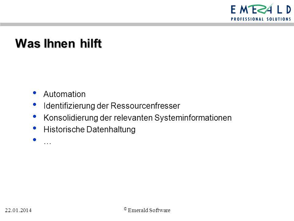 Was Ihnen hilft Automation Identifizierung der Ressourcenfresser
