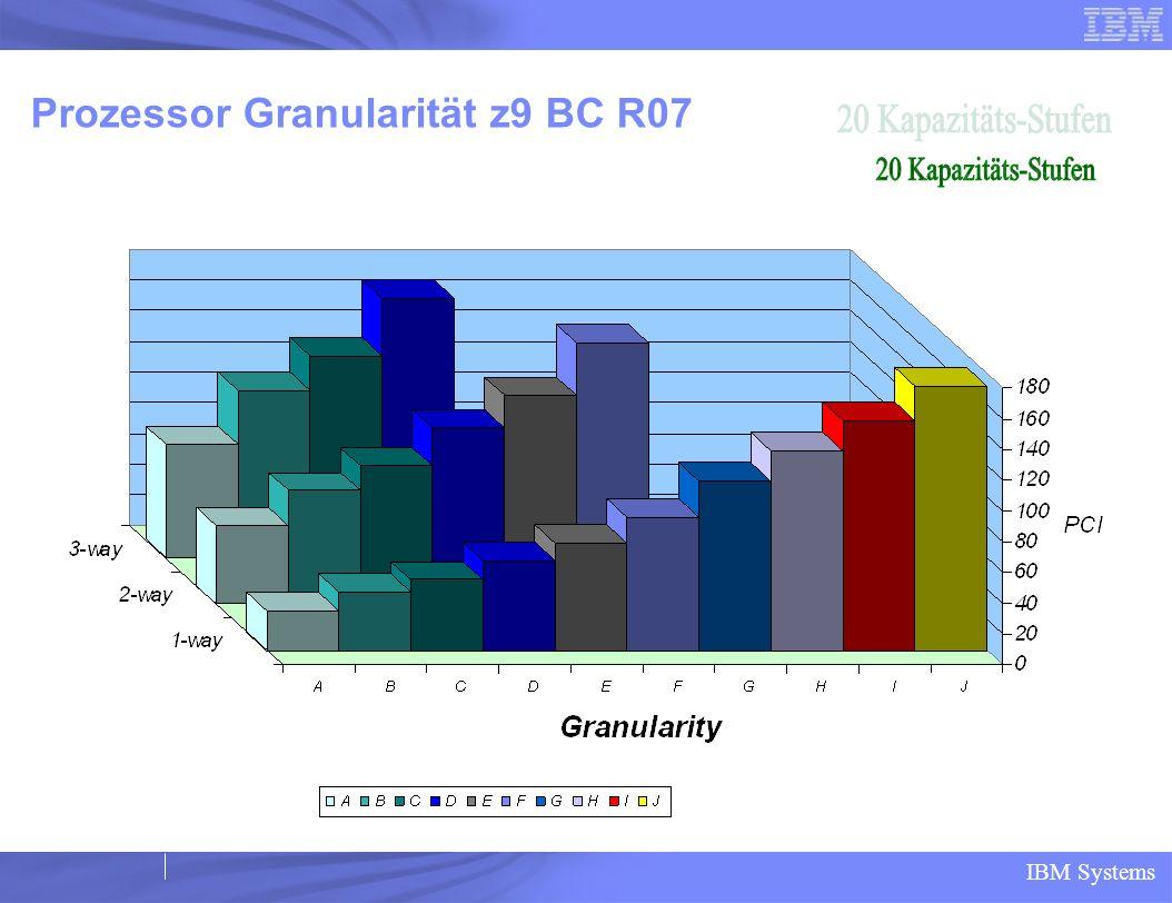 Prozessor Granularität z9 BC R07