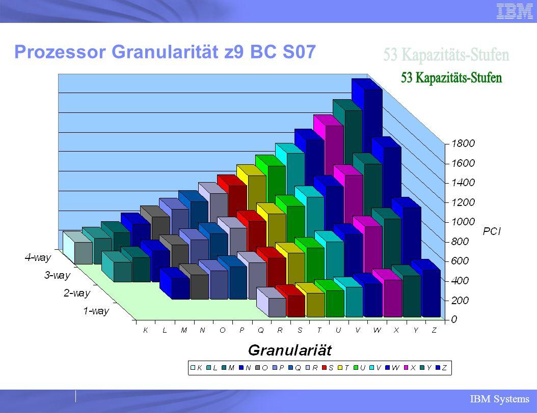 Prozessor Granularität z9 BC S07