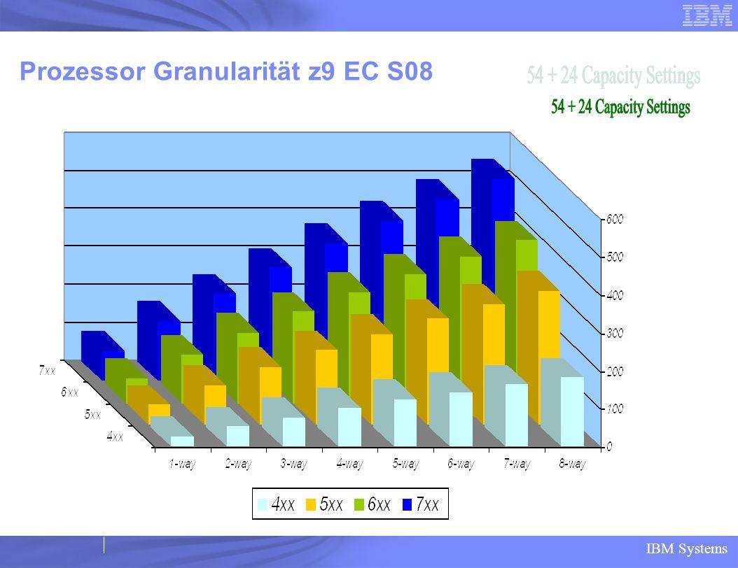 Prozessor Granularität z9 EC S08