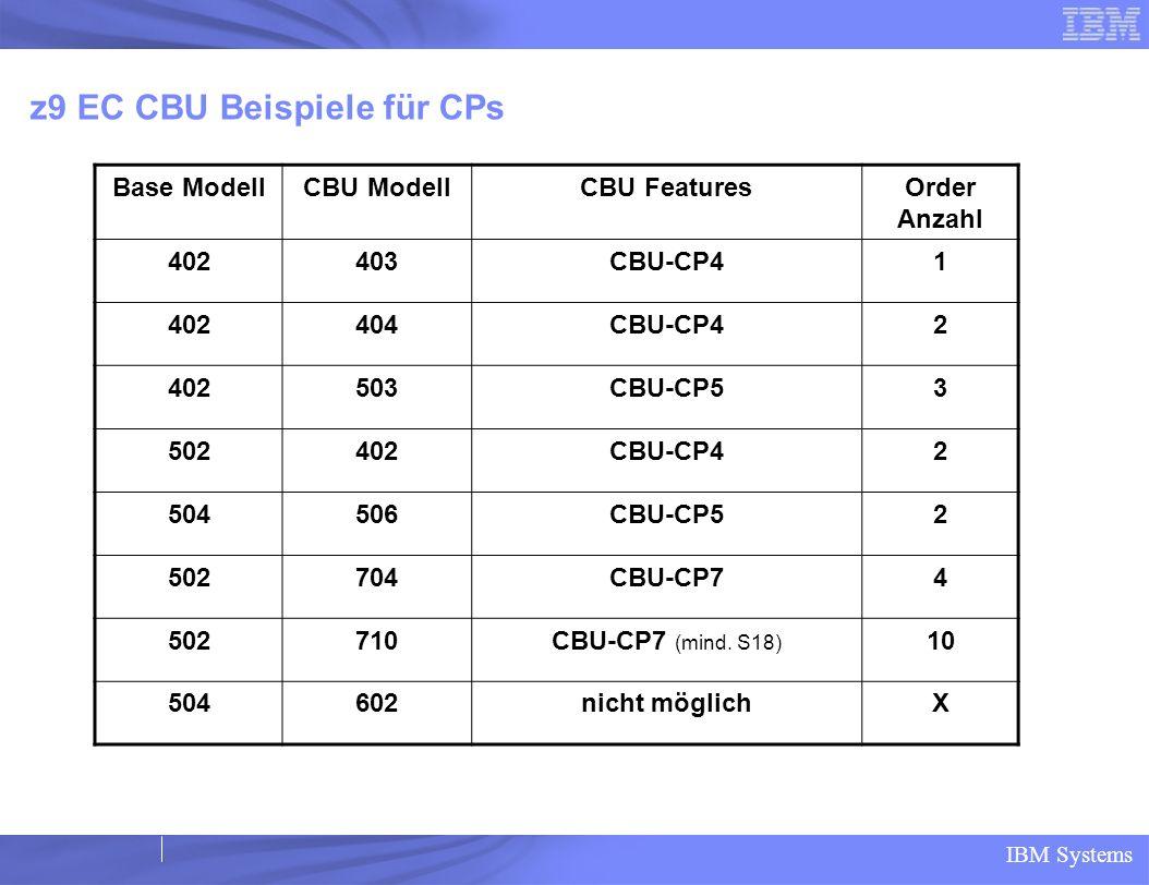 z9 EC CBU Beispiele für CPs