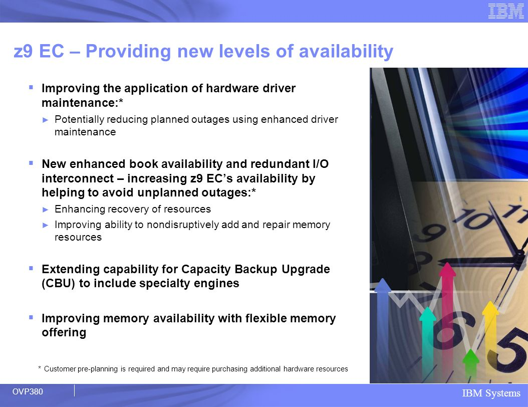 z9 EC – Providing new levels of availability