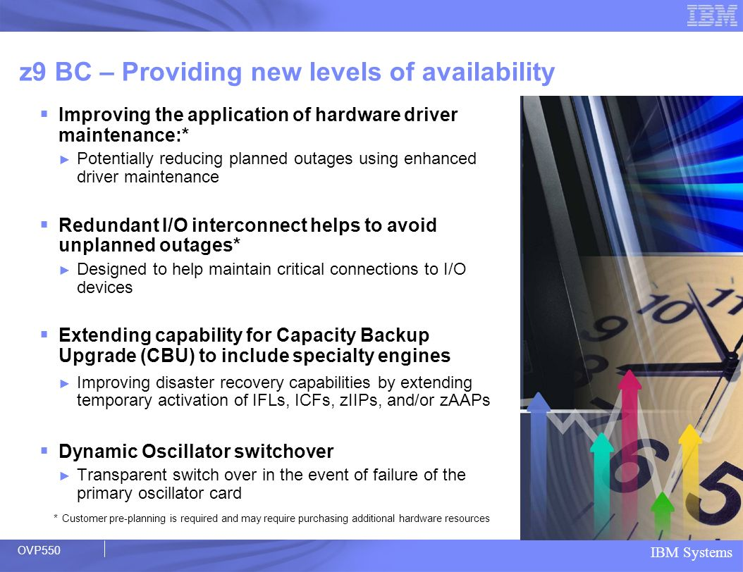 z9 BC – Providing new levels of availability