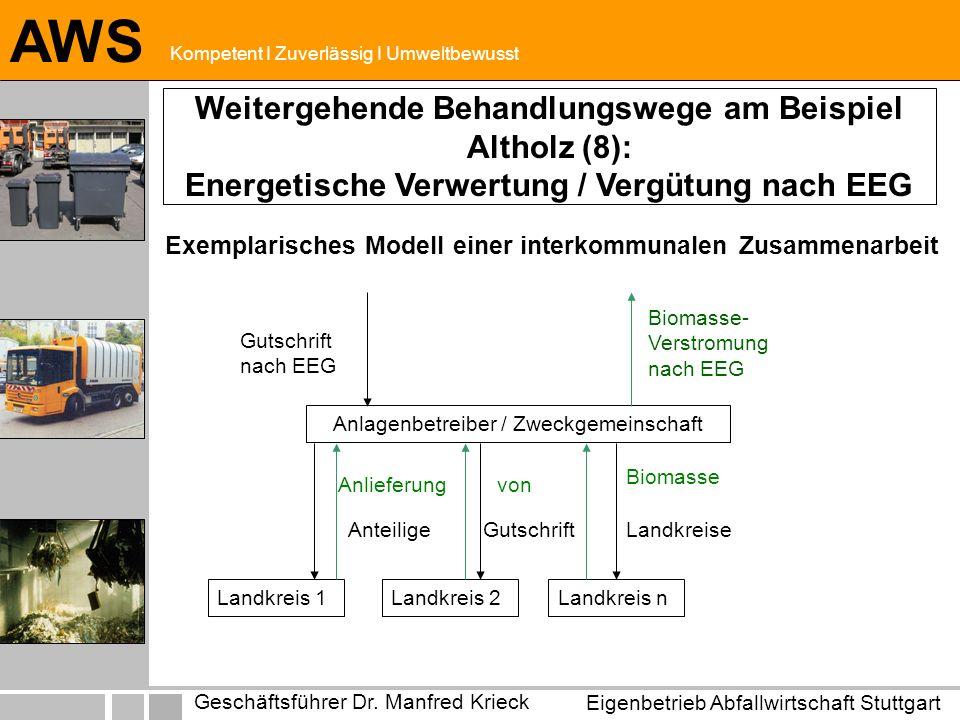 Exemplarisches Modell einer interkommunalen Zusammenarbeit