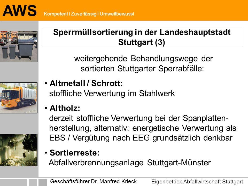 Sperrmüllsortierung in der Landeshauptstadt Stuttgart (3)