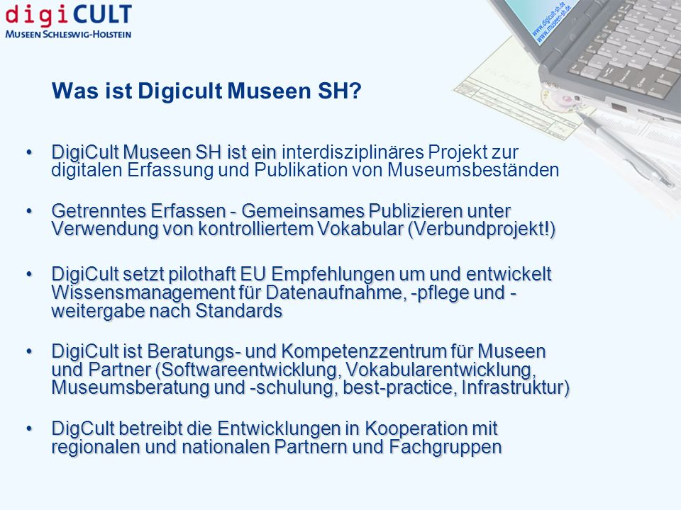 Was ist Digicult Museen SH