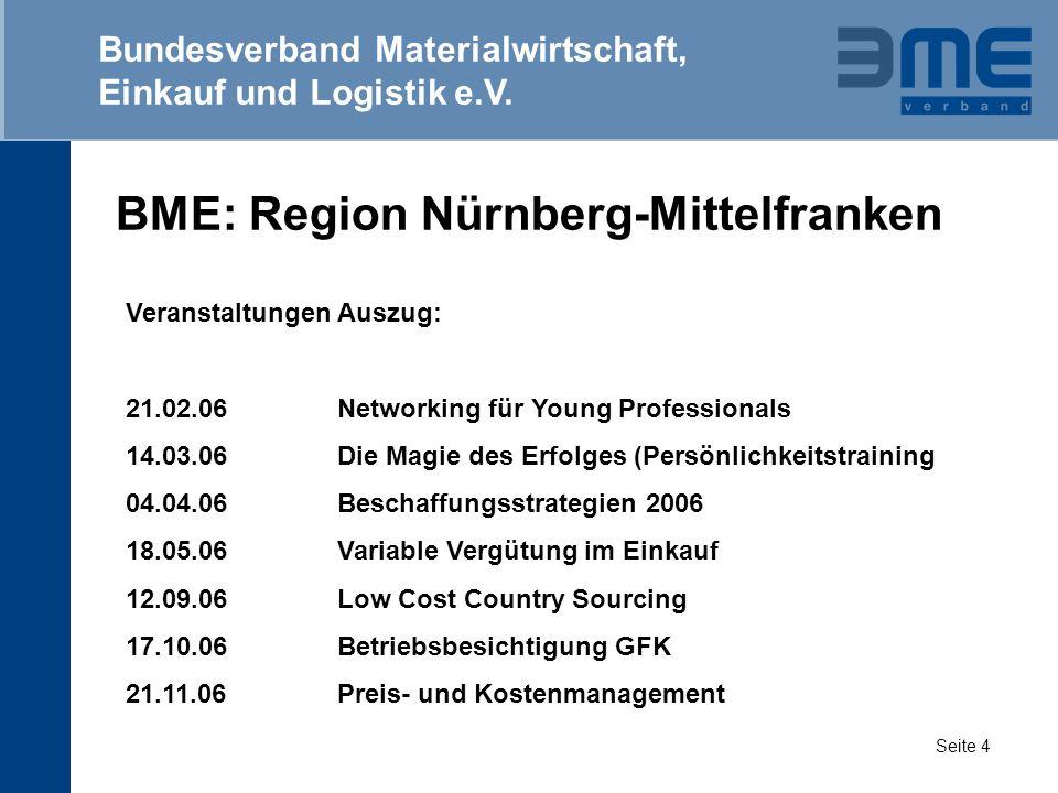 BME: Region Nürnberg-Mittelfranken