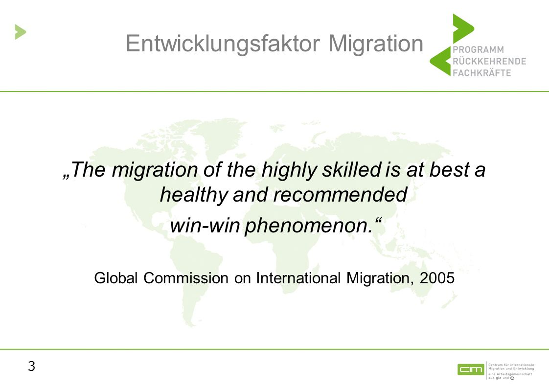 Entwicklungsfaktor Migration