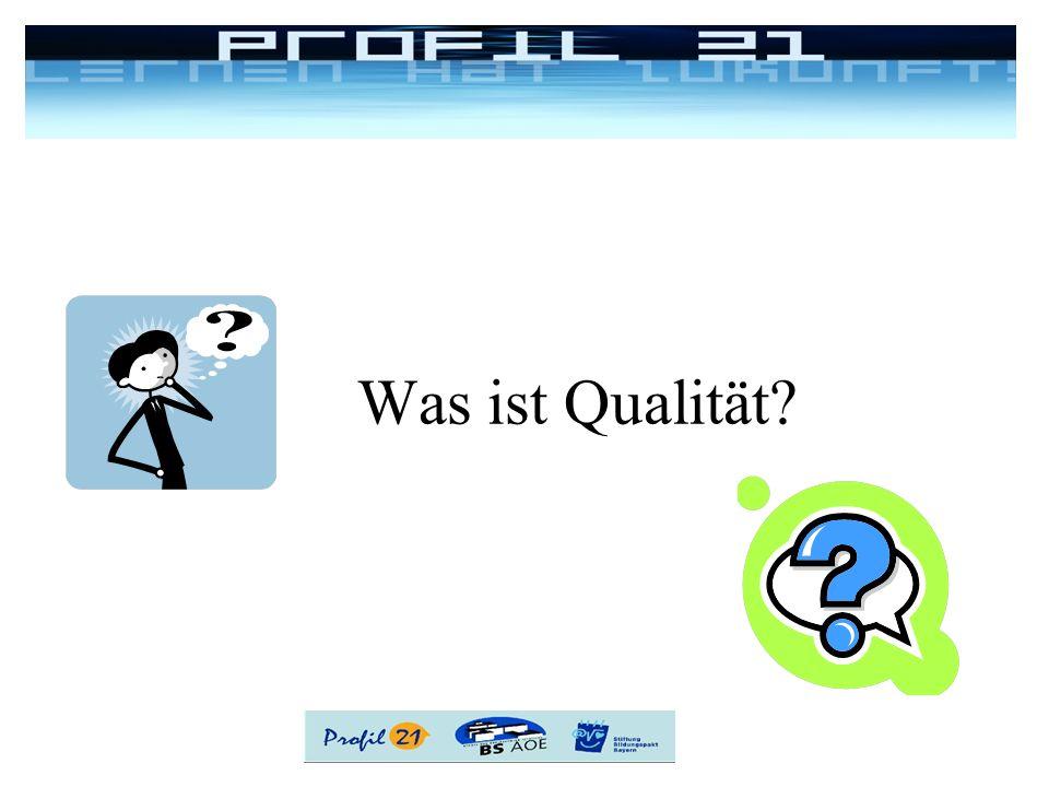 Was ist Qualität 5