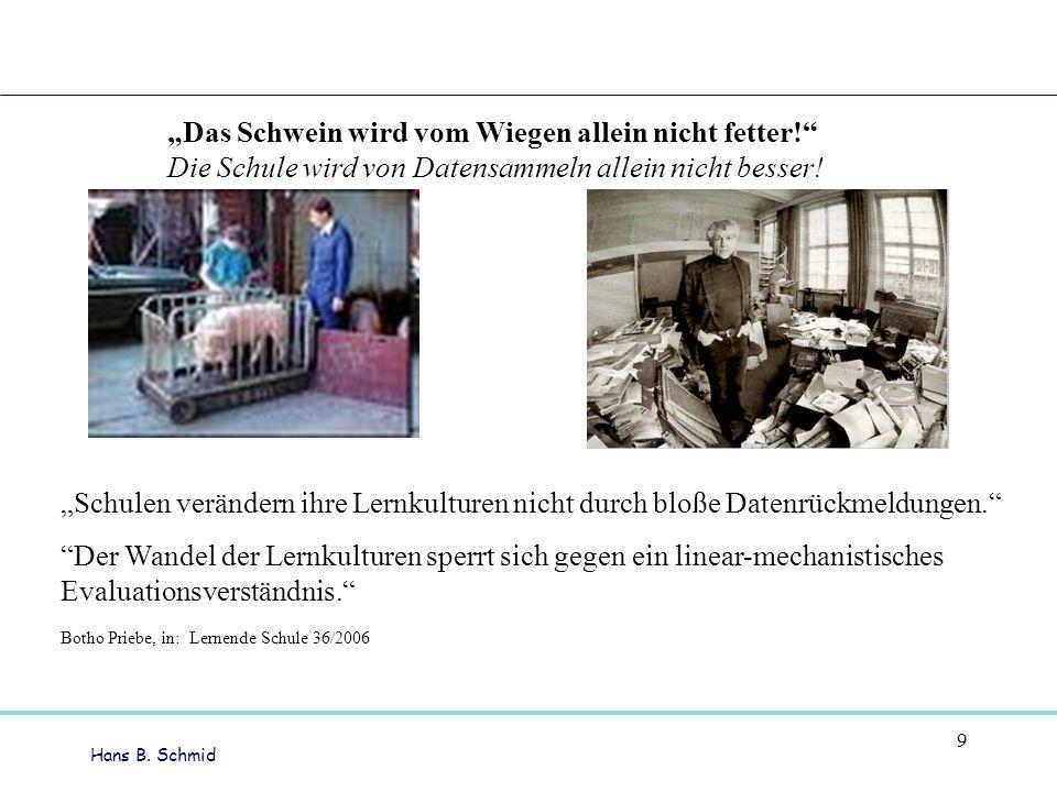 """""""Das Schwein wird vom Wiegen allein nicht fetter!"""