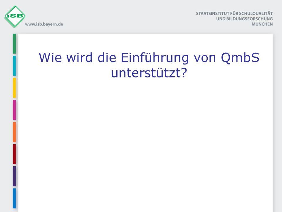 Wie wird die Einführung von QmbS unterstützt