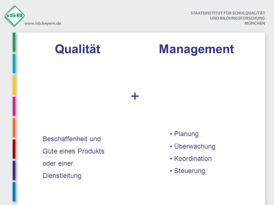 + Qualität Management Beschaffenheit und Planung Güte eines Produkts