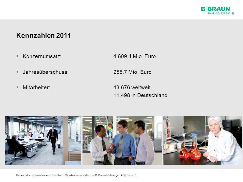 Kennzahlen 2011 Konzernumsatz: 4.609,4 Mio. Euro
