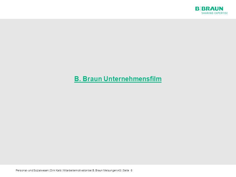 B. Braun Unternehmensfilm