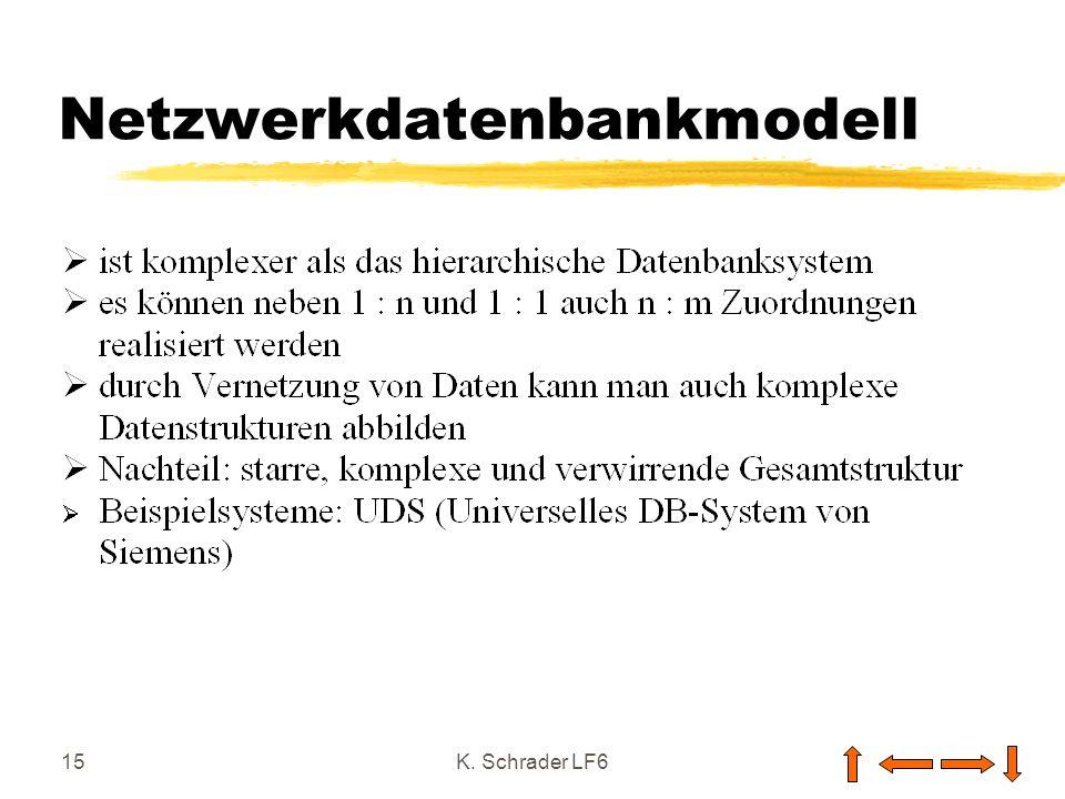 Netzwerkdatenbankmodell