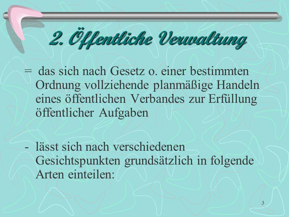 2. Öffentliche Verwaltung