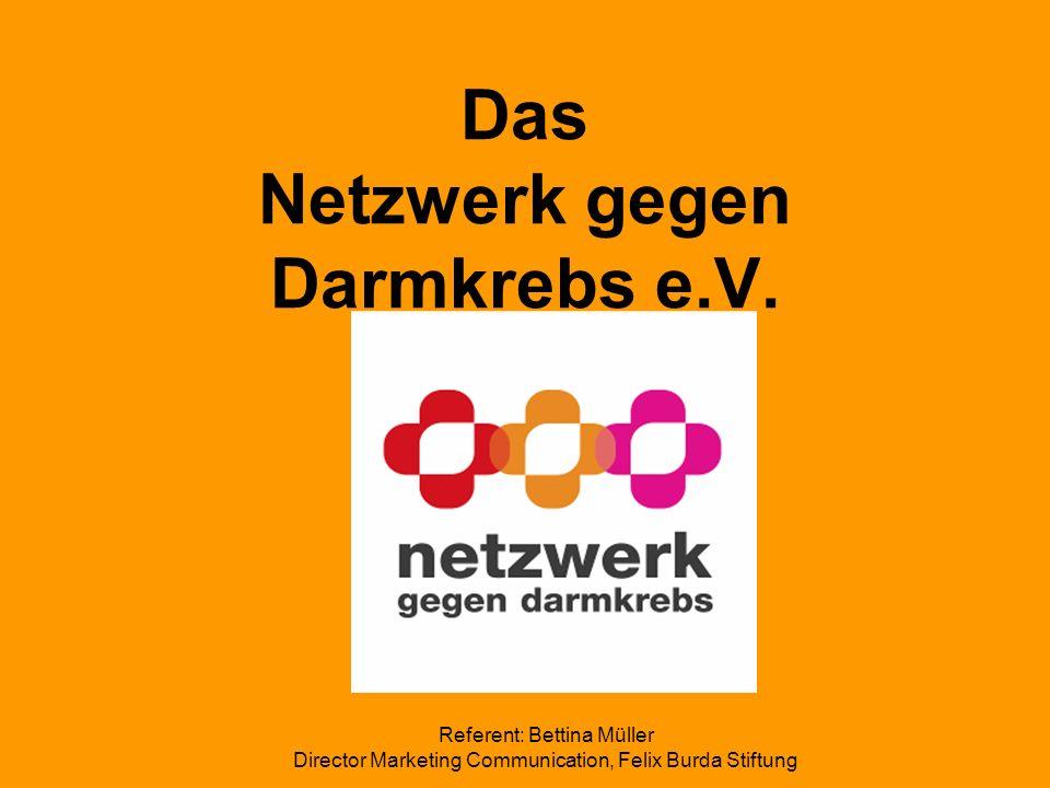 Das Netzwerk gegen Darmkrebs e.V.