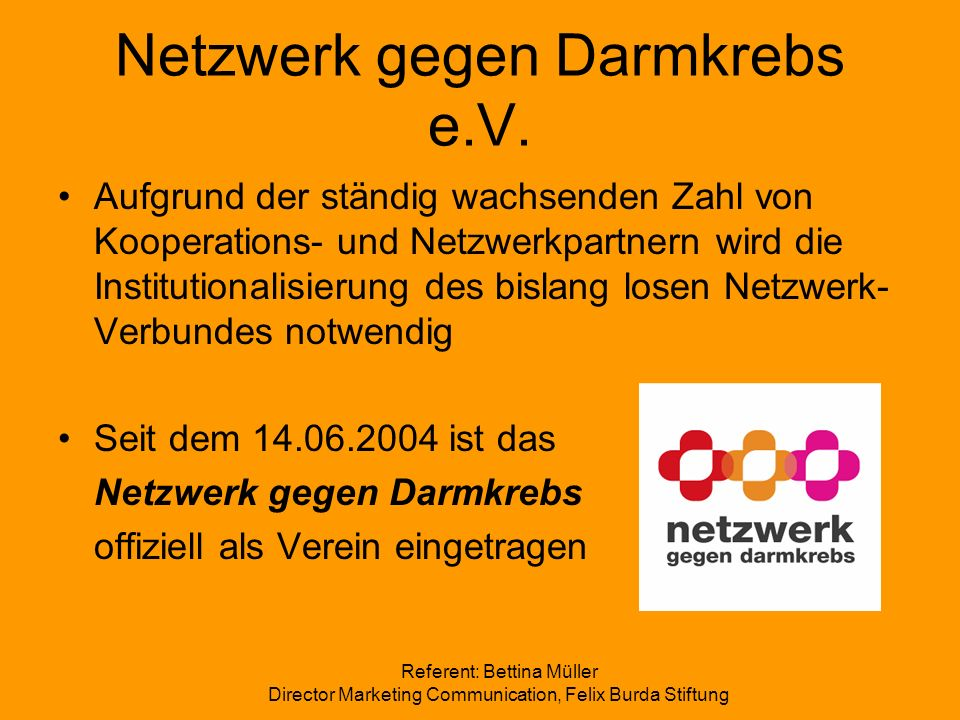 Netzwerk gegen Darmkrebs e.V.