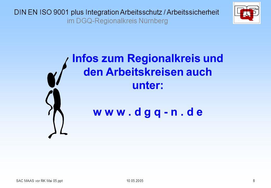 Infos zum Regionalkreis und den Arbeitskreisen auch unter: