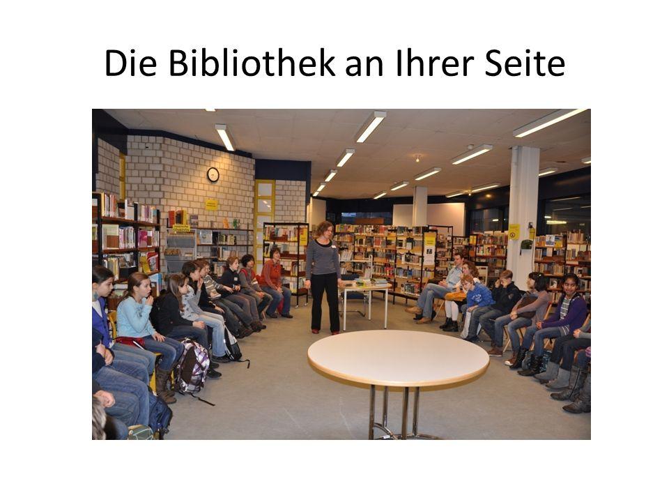 Die Bibliothek an Ihrer Seite