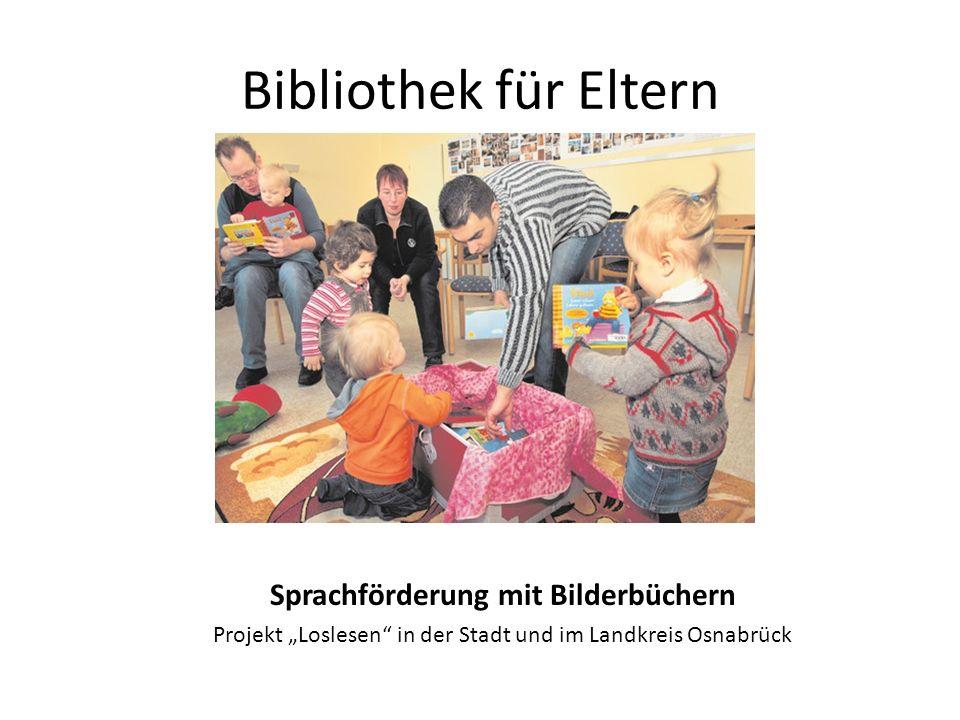Sprachförderung mit Bilderbüchern