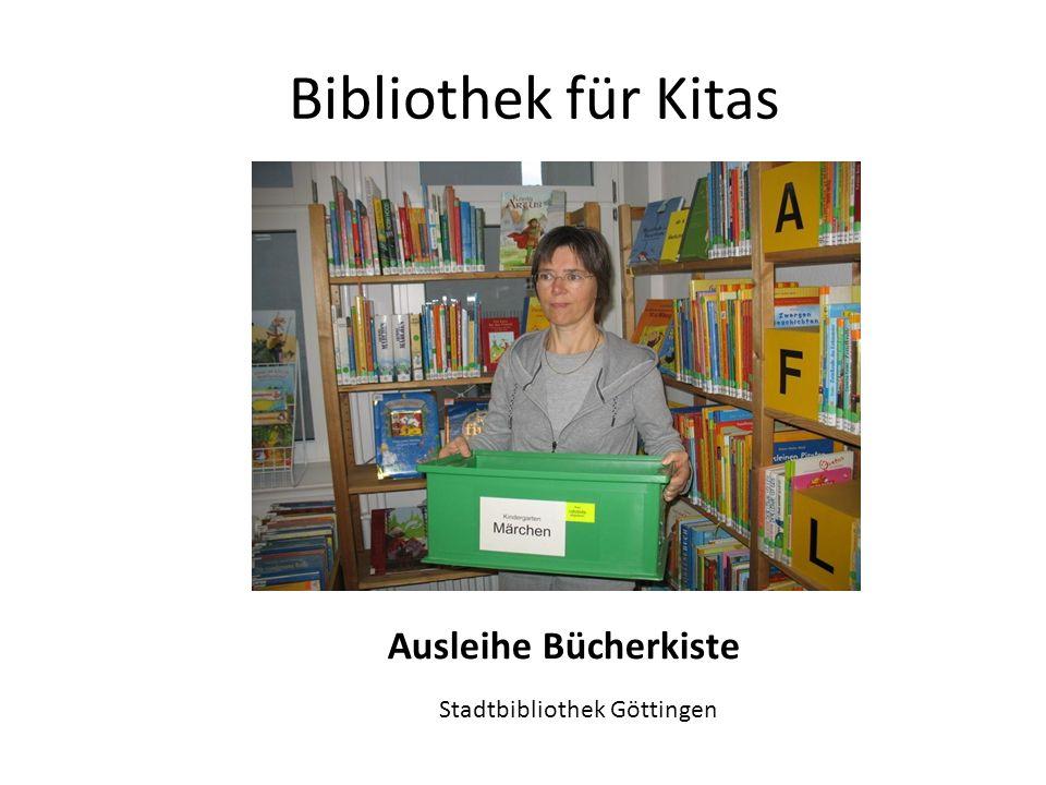 Ausleihe Bücherkiste Stadtbibliothek Göttingen