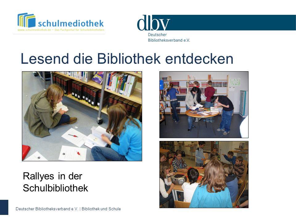 Rallyes in der Schulbibliothek