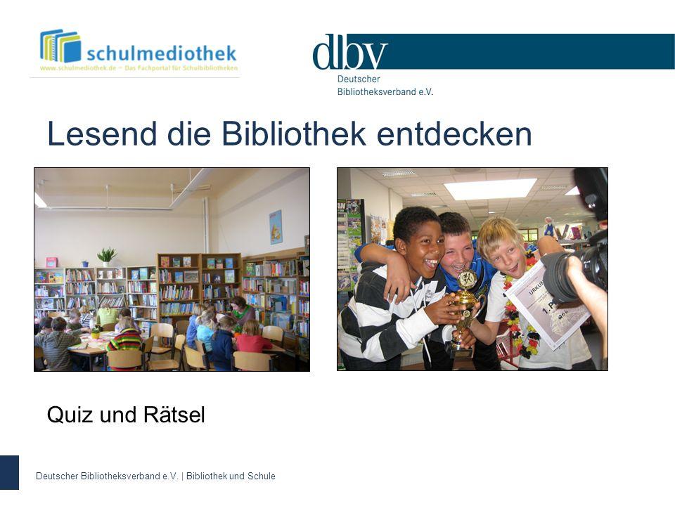 Lesend die Bibliothek entdecken