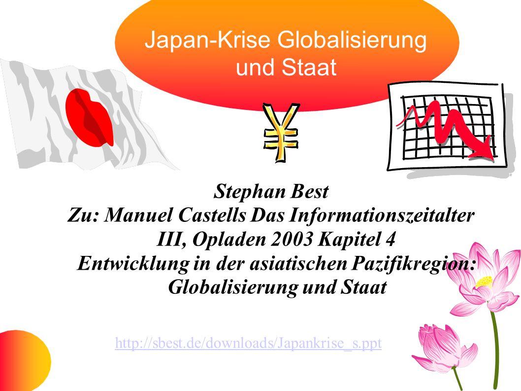 Japan-Krise Globalisierung und Staat