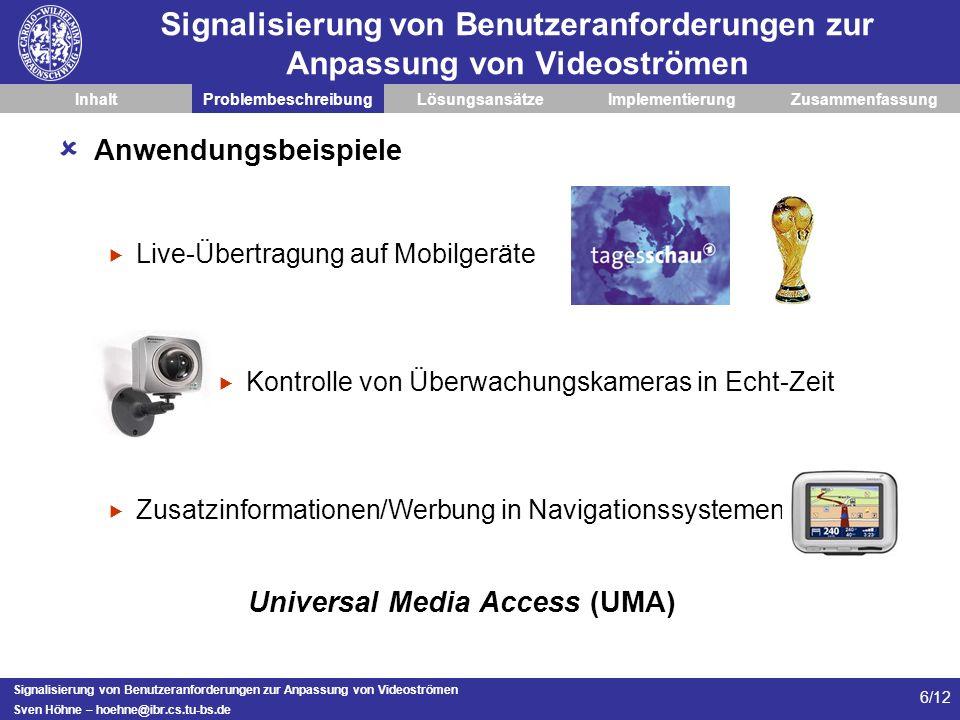 Universal Media Access (UMA)