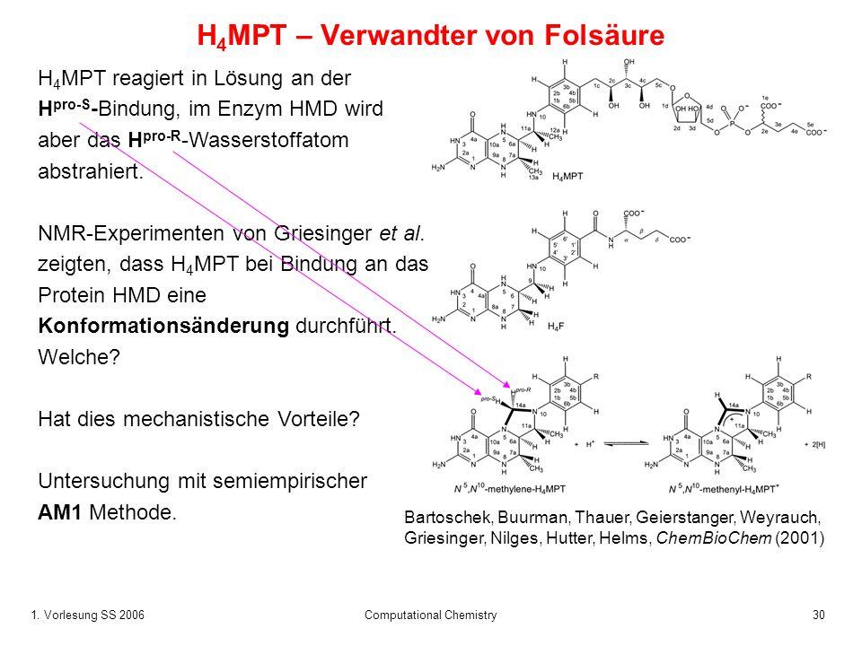 H4MPT – Verwandter von Folsäure