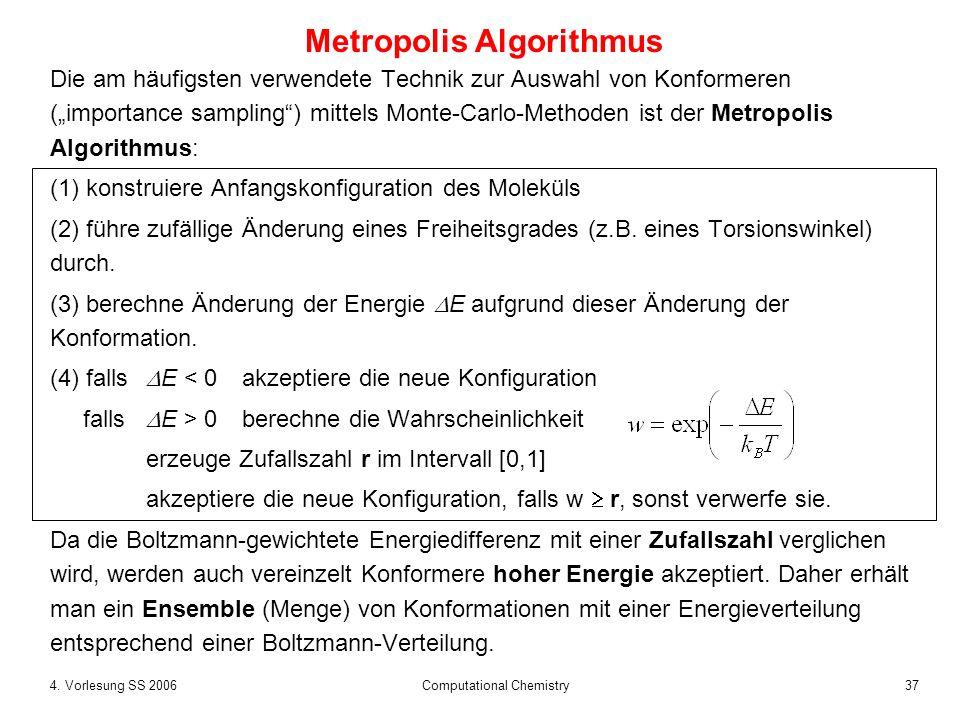 Metropolis Algorithmus
