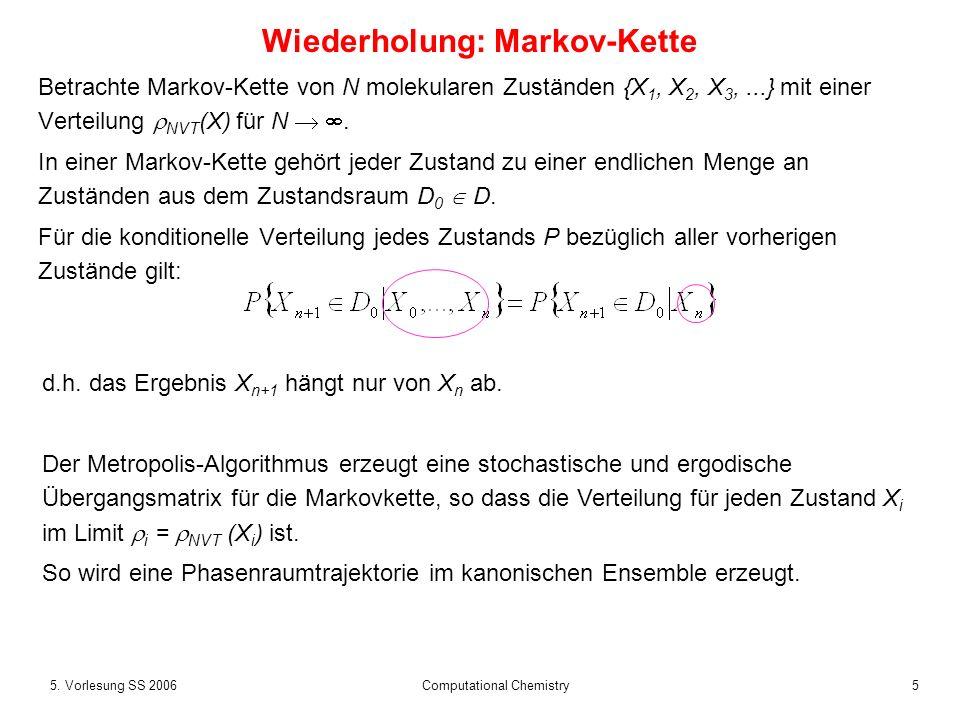 Wiederholung: Markov-Kette