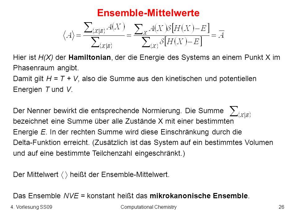 Ensemble-Mittelwerte