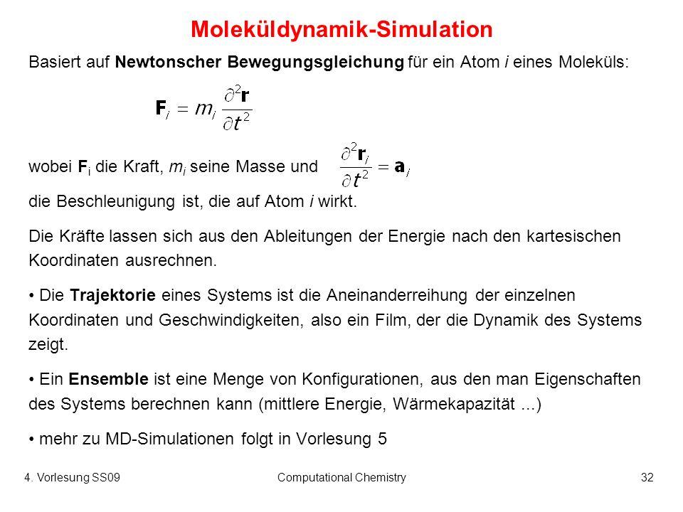 Moleküldynamik-Simulation