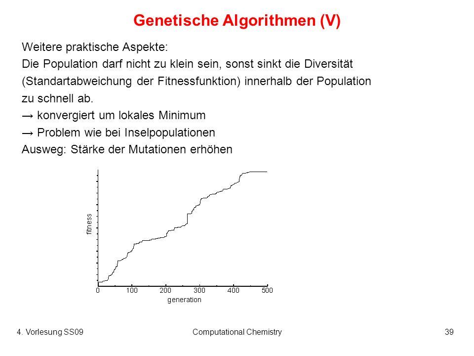 Genetische Algorithmen (V)