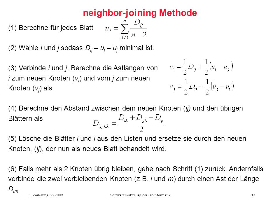 neighbor-joining Methode