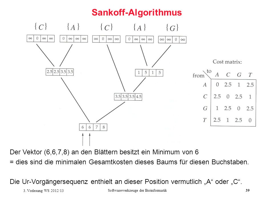 Softwarewerkzeuge der Bioinformatik