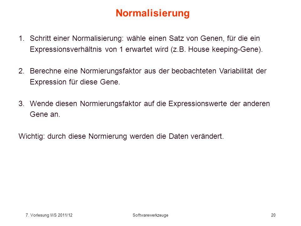 Normalisierung